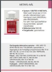 Metafilnål H-80 symaskinnål