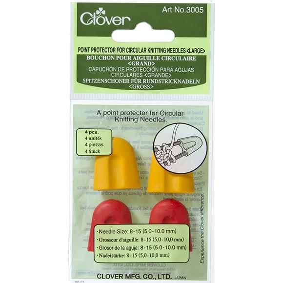 Beskytter til strikkepinner  Clover stor