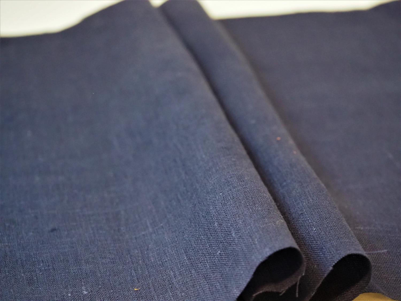 Lin marineblå