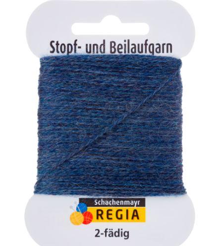 Stoppegarn , jeansblå