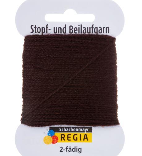 Stoppegarn mørk brun