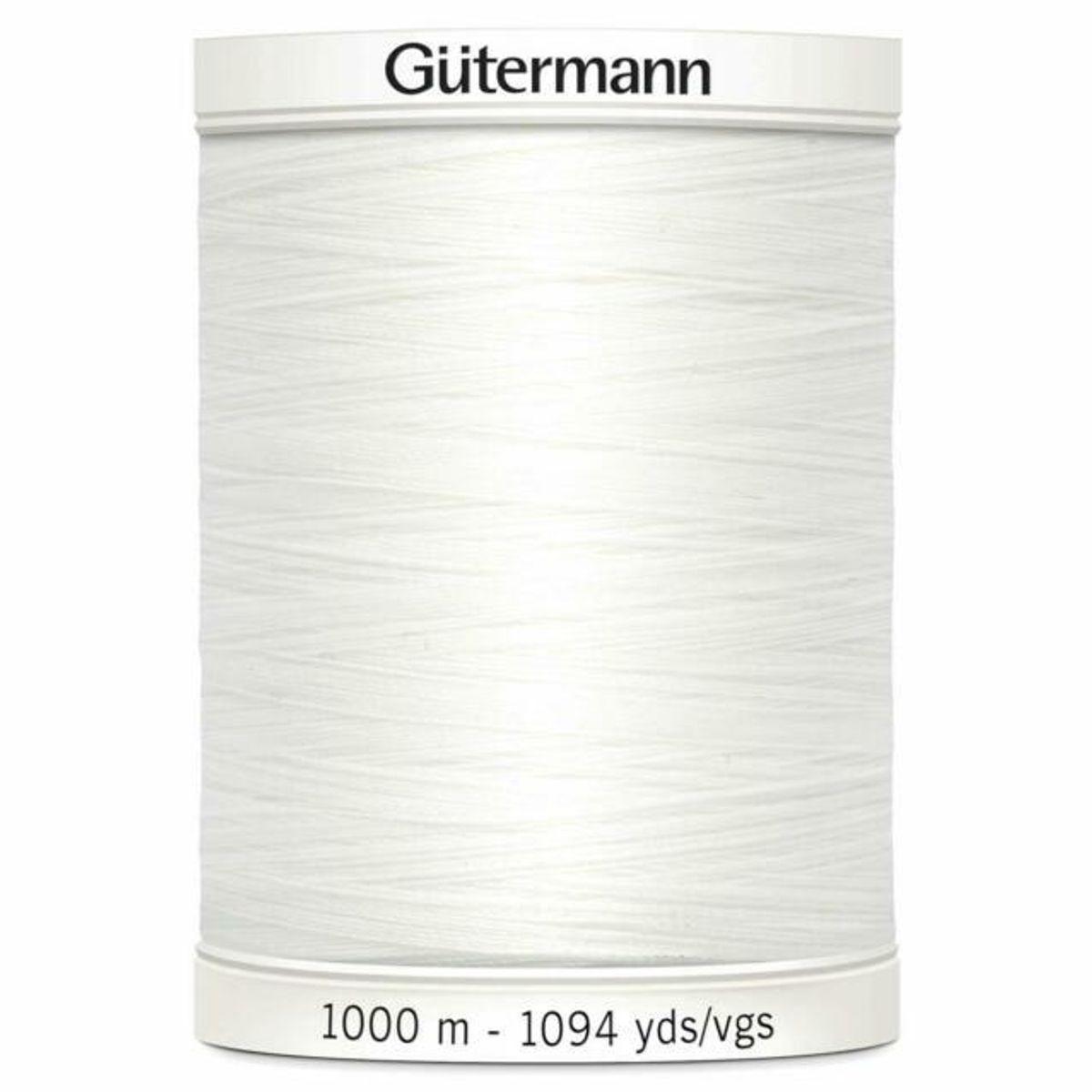 Gutermann 1000 m kvit