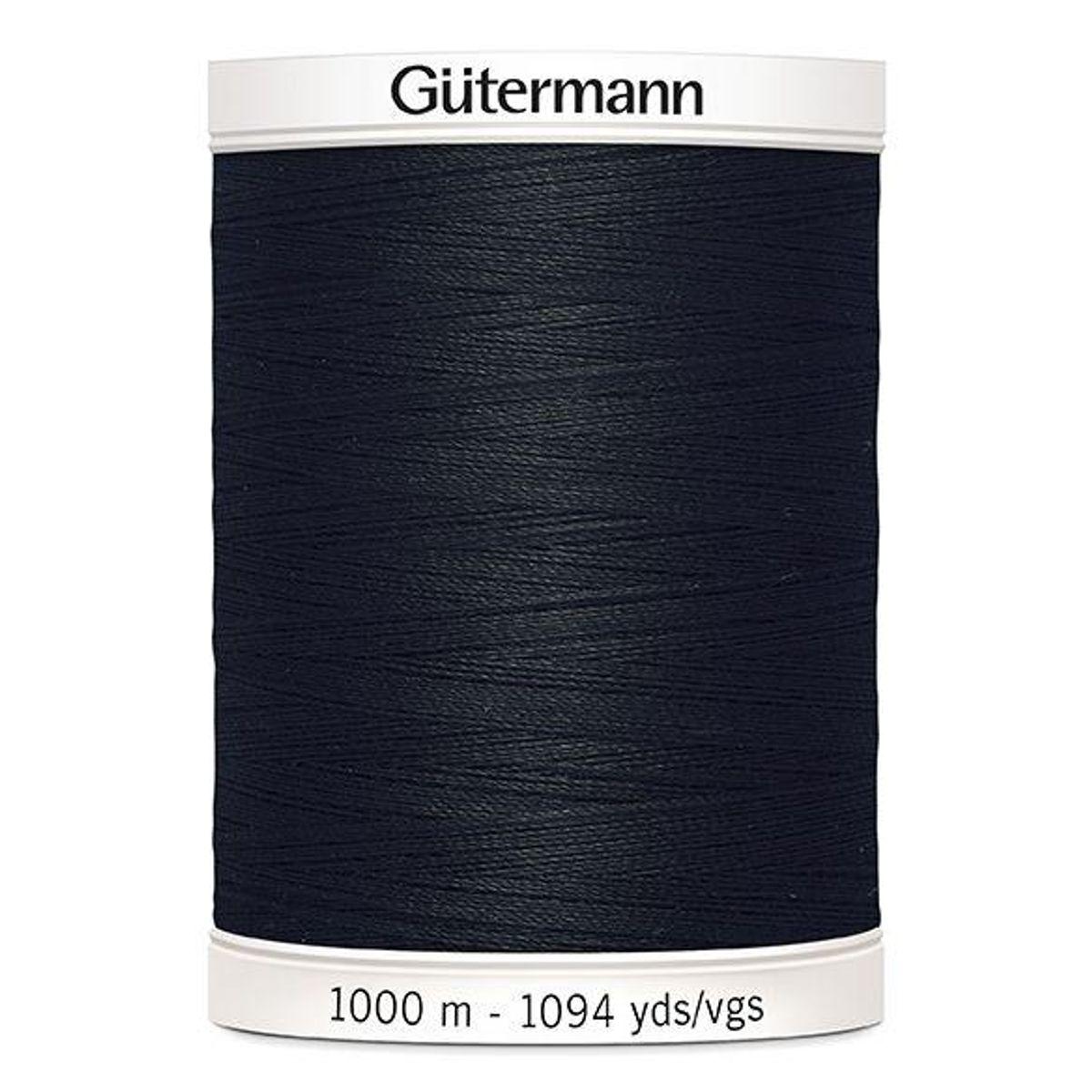 Gutermann 1000 m svart