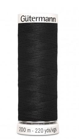 Gutermann 200 m svart