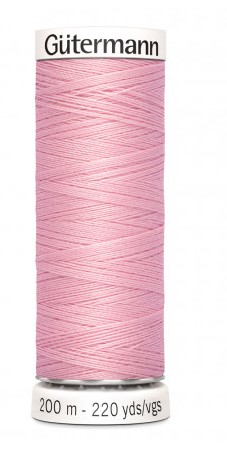 Gutermann 200 m lys rosa 660