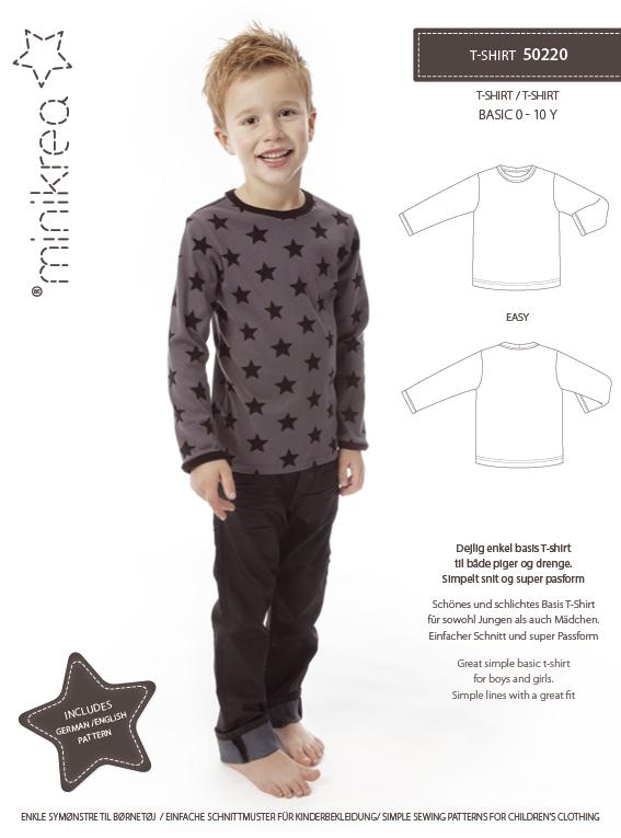 Mini krea: T- Skjorte 0-10