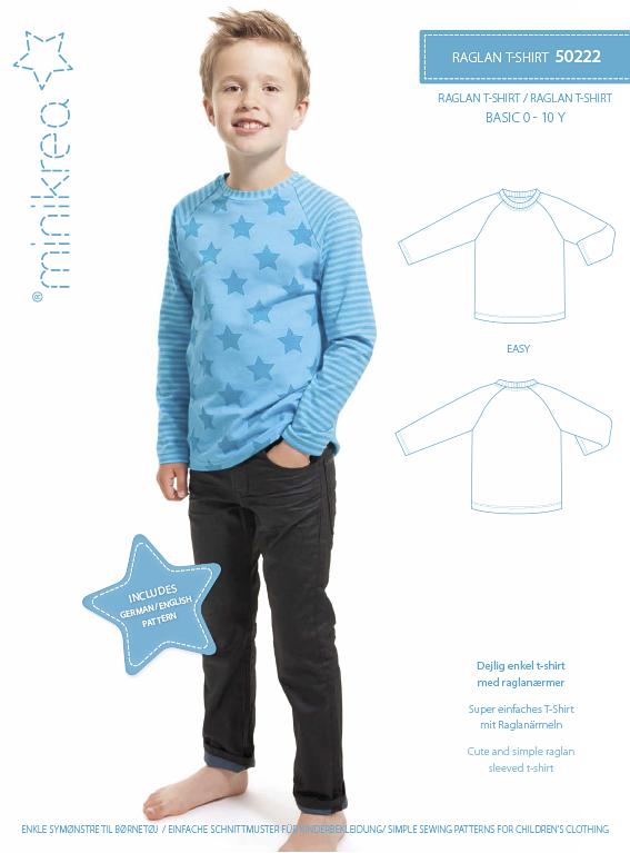 Mini Krea : Ragland T-skjorte 0-10 år