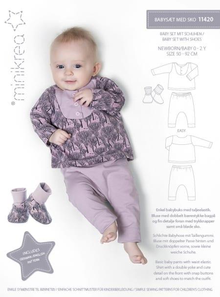 Minikrea: babysett med sko