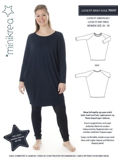 Minikrea: loose fit kjole