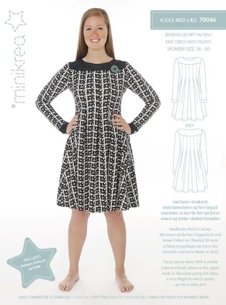 Minikrea: kjole med legg