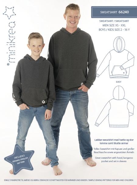 Minikrea: sweatshirt, xs-xxl