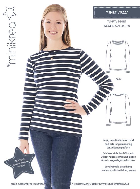 Minikrea: T- Skirt str 34-50