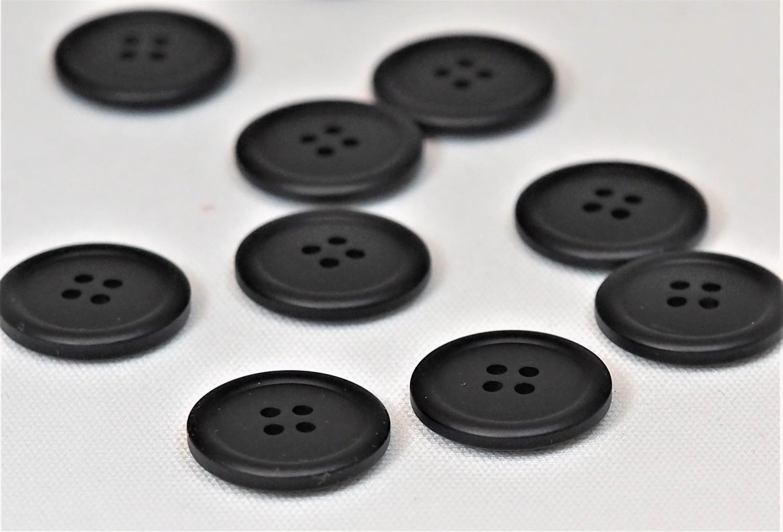 Knapp: svart 20mm