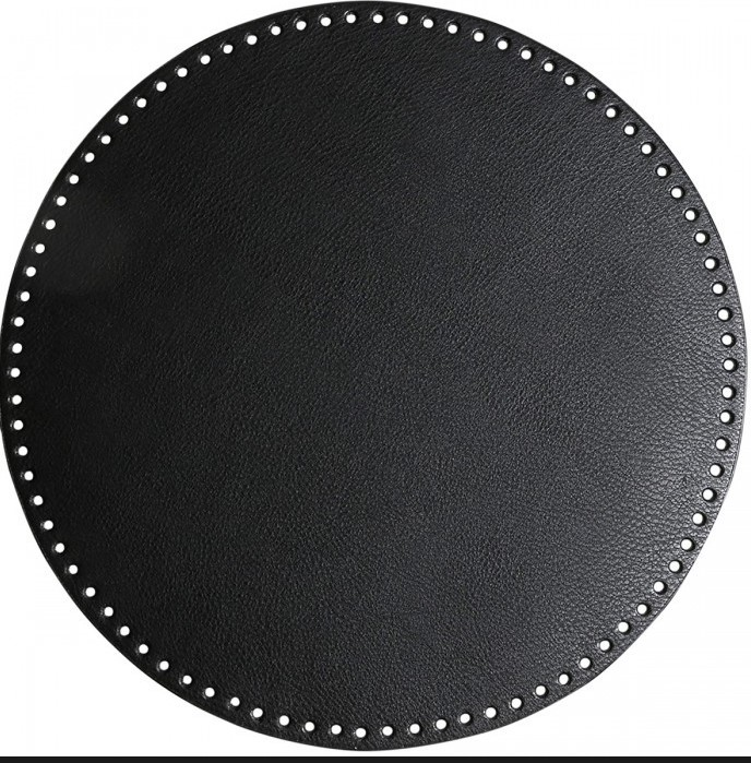 Veskebunn rund Ø20 cm sort
