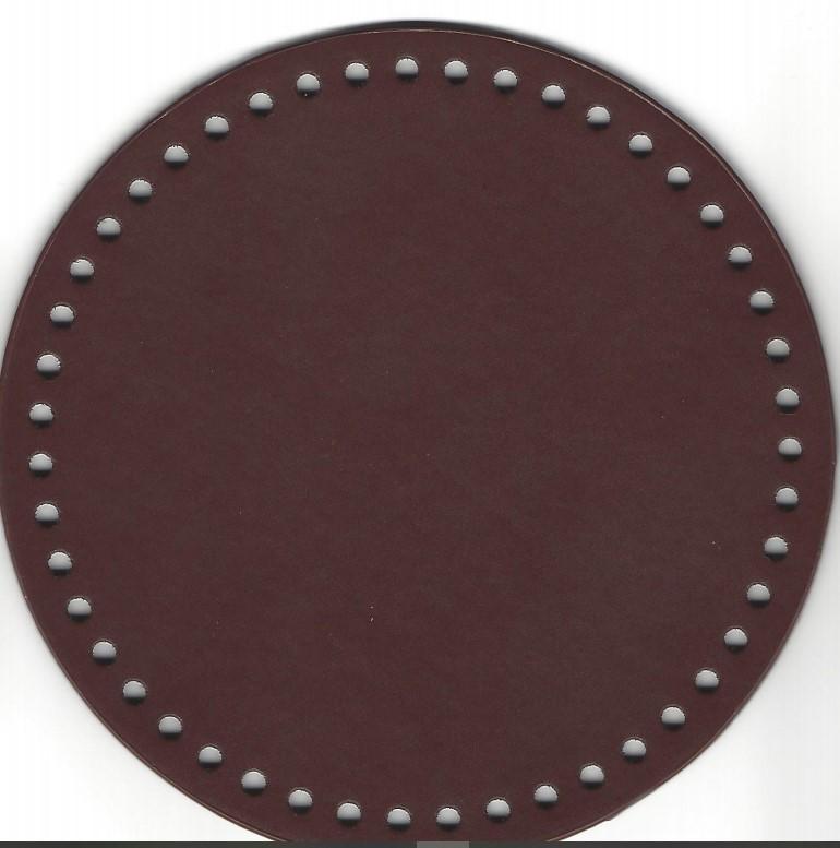Veskebunn brun 20cm Ø