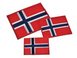 Motiv Norsk flagg