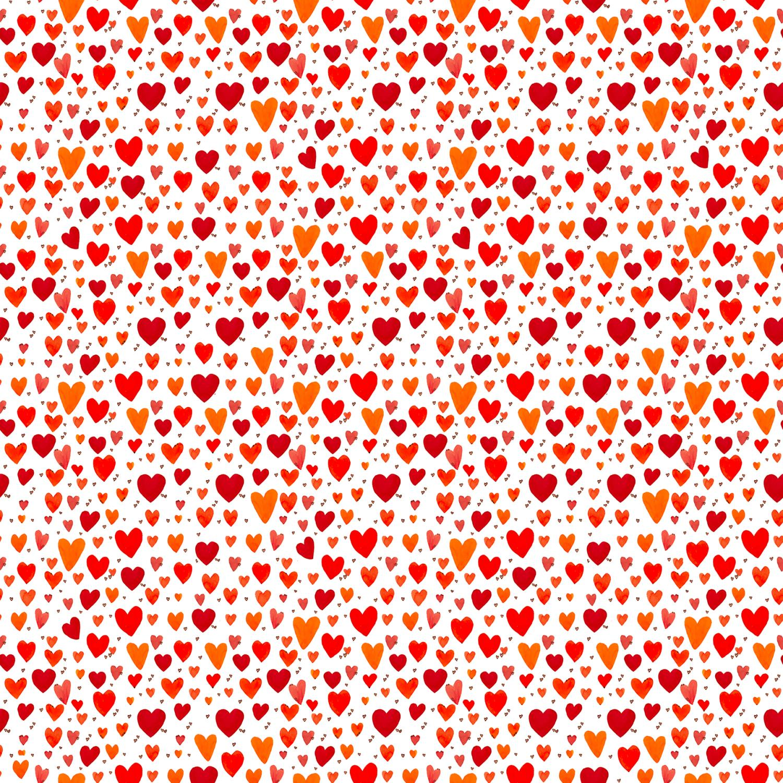 Playful Hearts Coral. pris pr 10cm