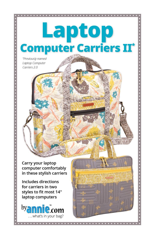 Mønster laptop computer carriers
