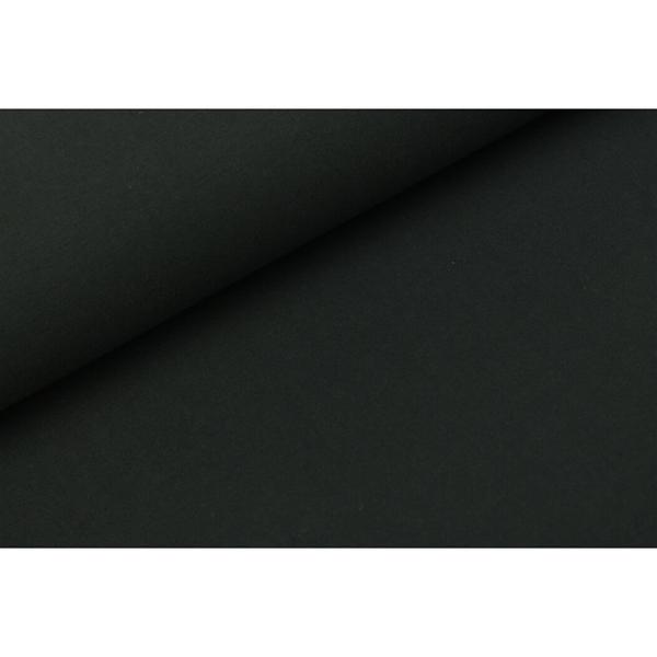 Jogging ensfarget, bløt pris pr 10cm svart