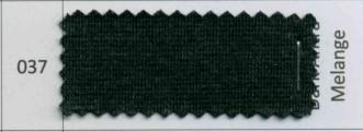 Ribb Kantband 38mm mørk grå melert