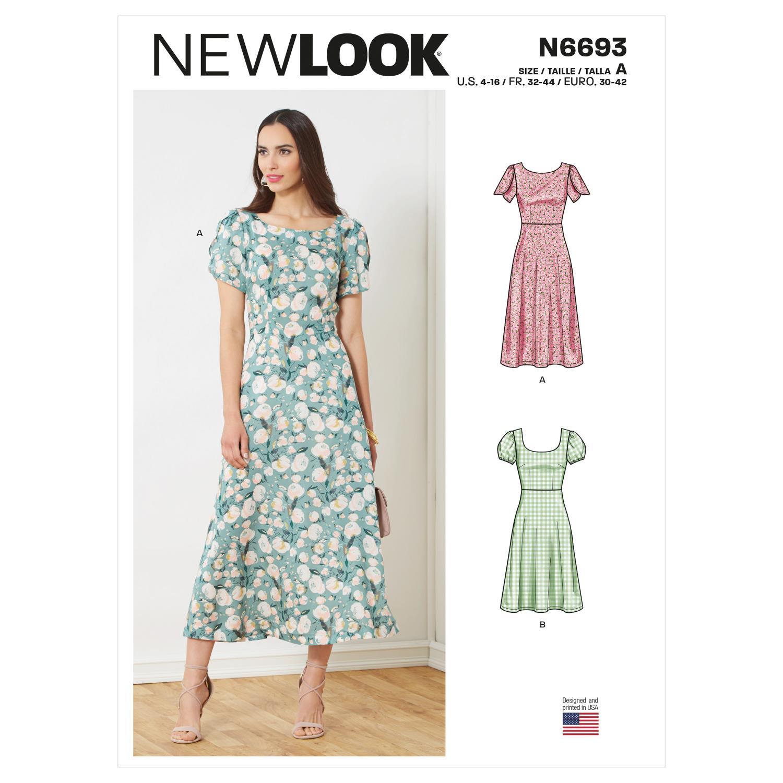 New Look Misses Dresses N6693