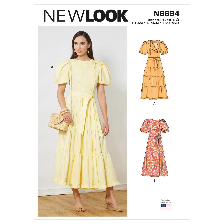 New Look Misses' Dresses n6694