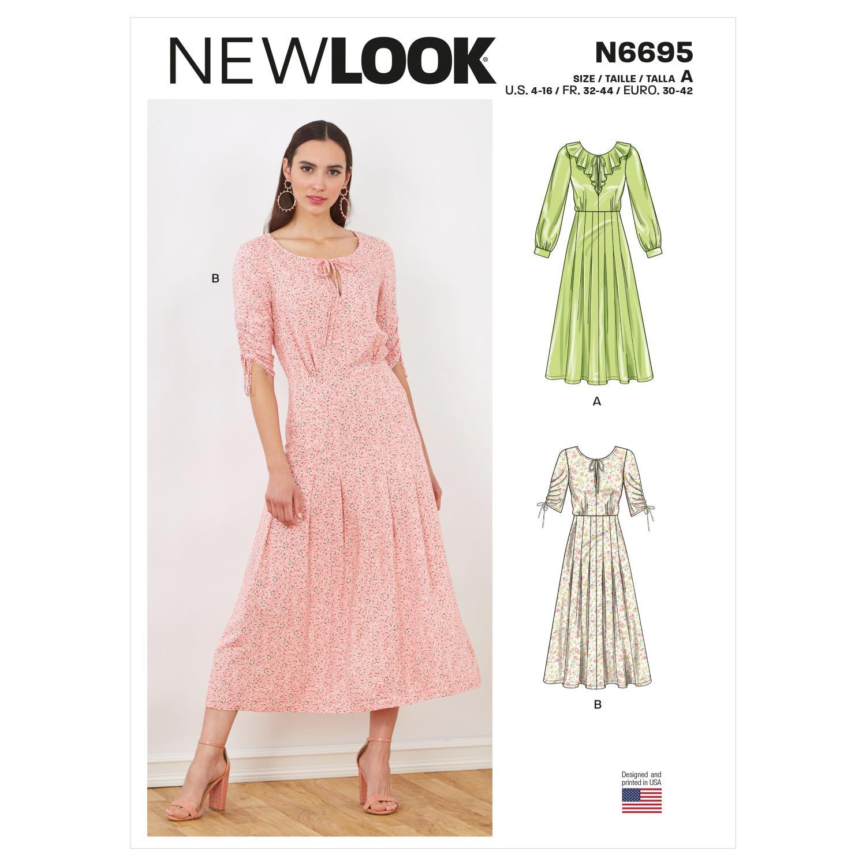 New Look Misses' dersses N6695