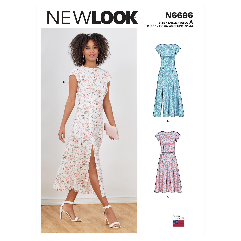 New Look Sewing Pattern N6696 Misses' Dresses