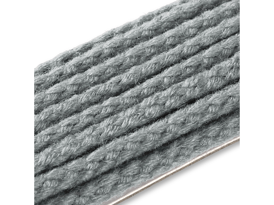 Anorakksnor mørk grå 5mm