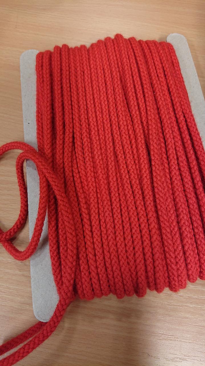 Snor rød 5mm