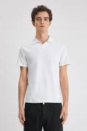 M. Lycra Polo T-shirt
