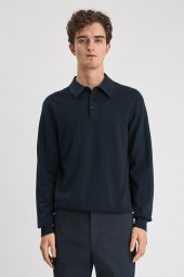 M. Knitted Polo Shirt