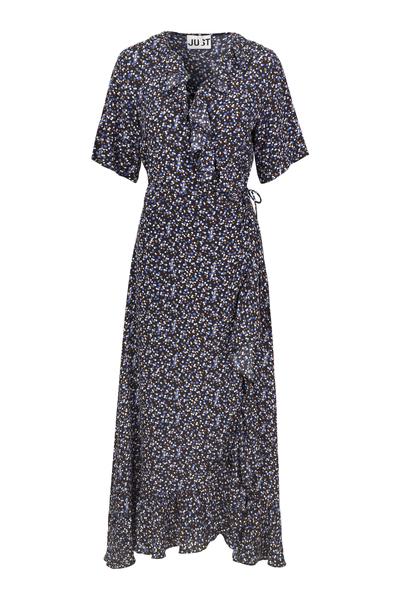Lassy Maxi Wrap Dress