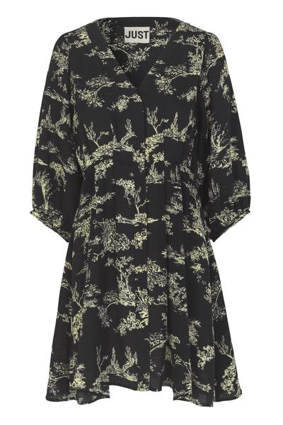 Mako Pleat Dress