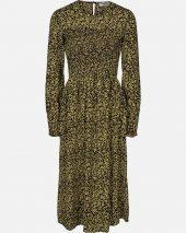 Celina Morocco LS Smock Dress AOP