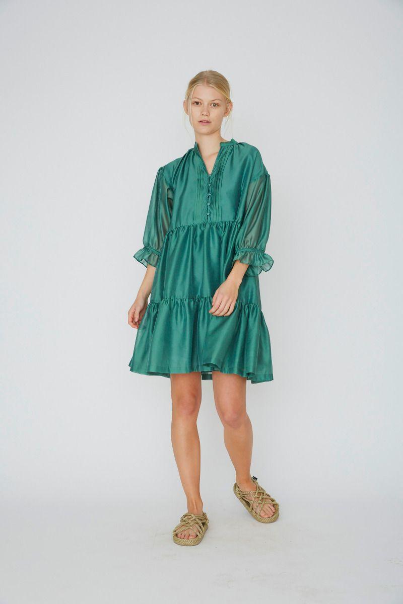 Enola Ruffle Dress