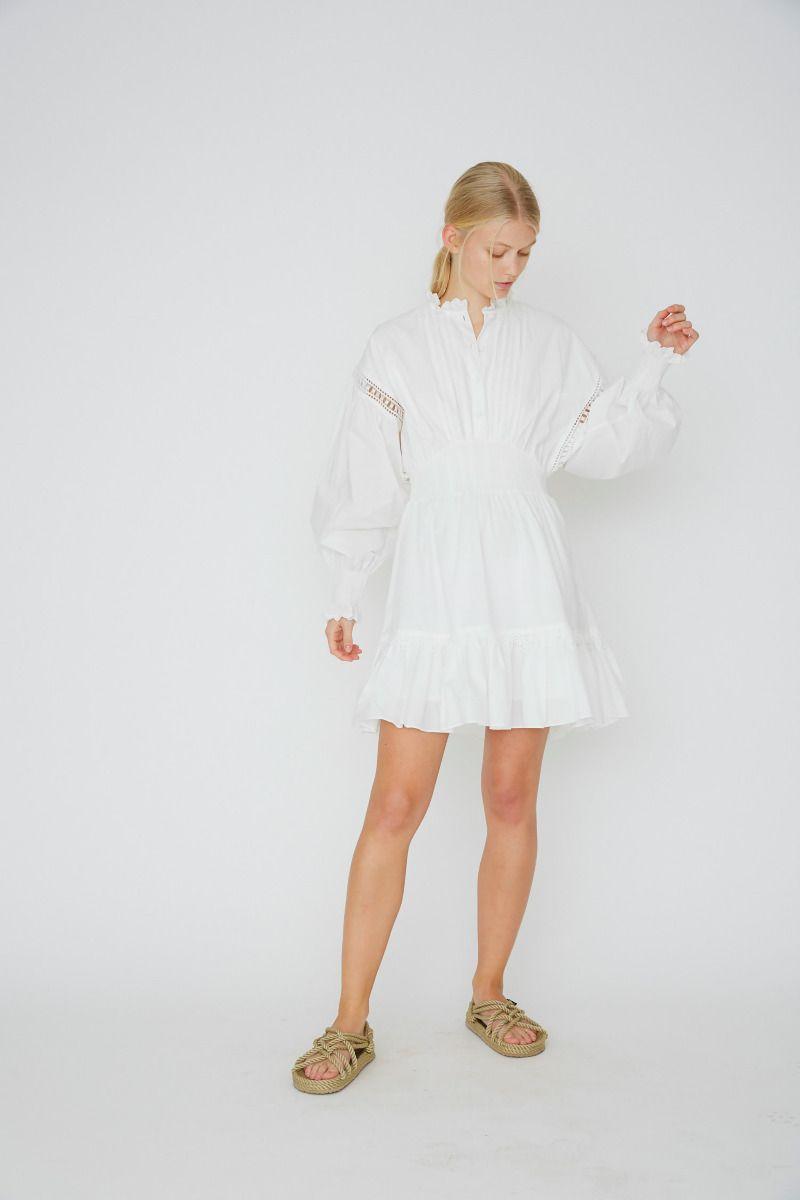 Sandra Ruffle Dress