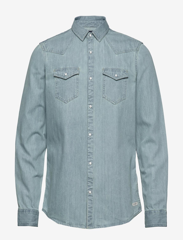 Ams Blauw Classic Western Shirt