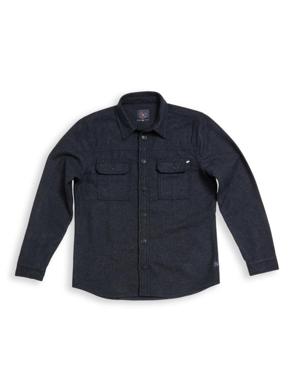Folignio Herringbone Overshirt