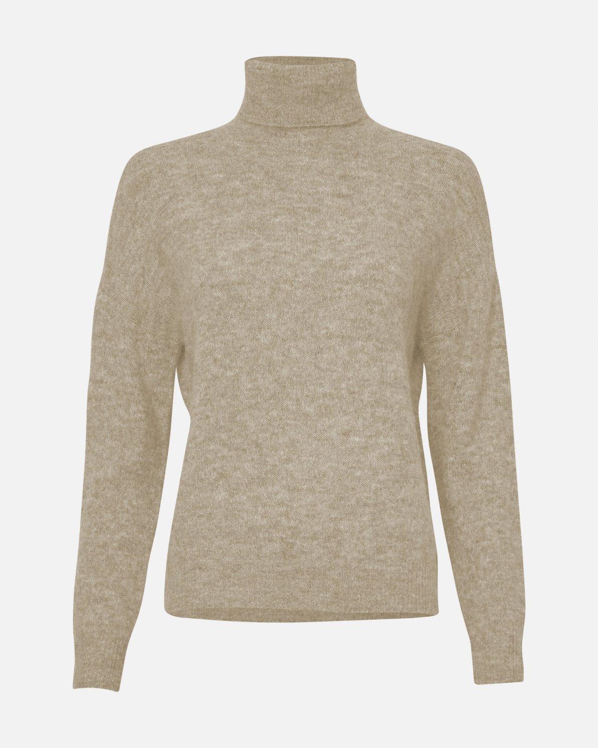 Femme Mohair Roll Neck Pullover
