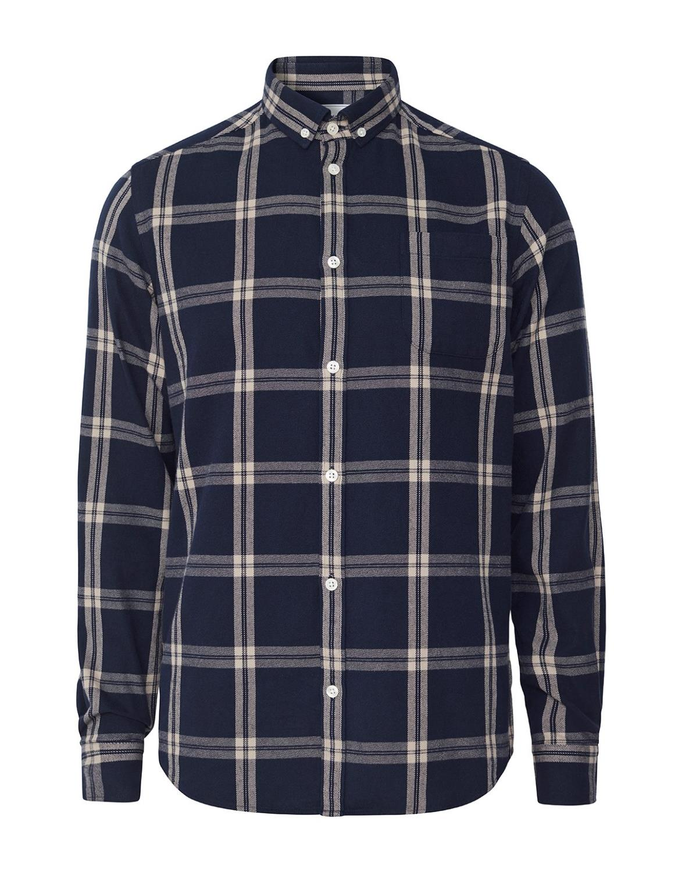 Jasper Check Flannel Shirt