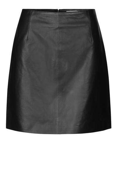 Moon Leather Skirt