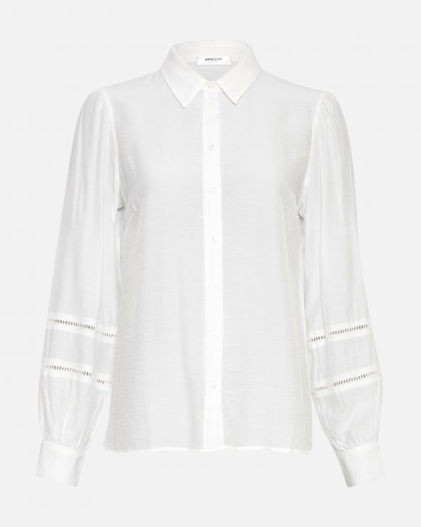 Ellene Melody LS Embroidery Shirt