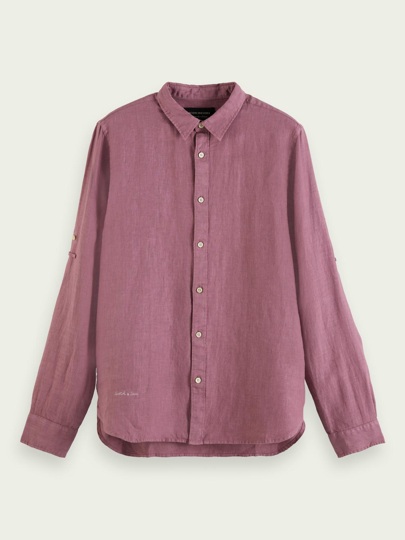 Dyed Linen Shirt