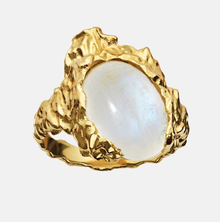 Goddess Ring Moonstone