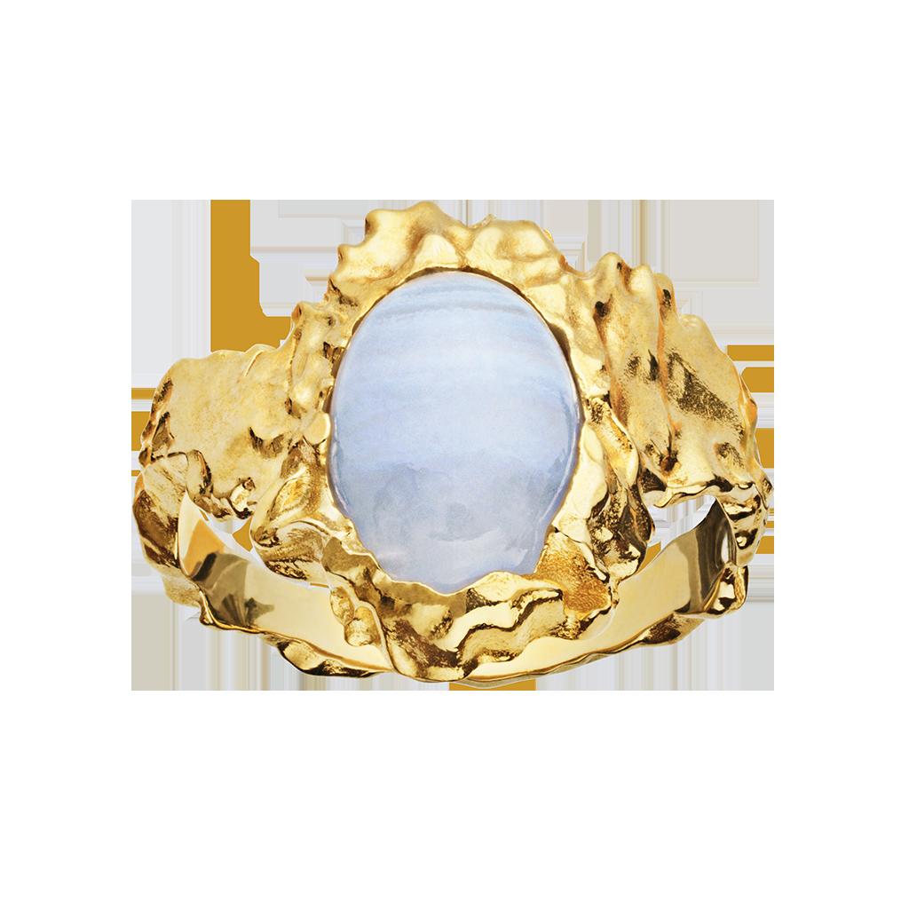 Goddess Ring Blonde Agat