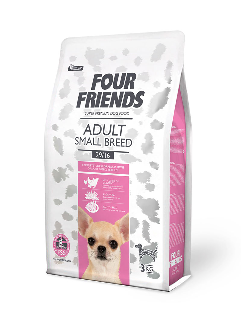 Four Friends Adult Small Breed 3kg