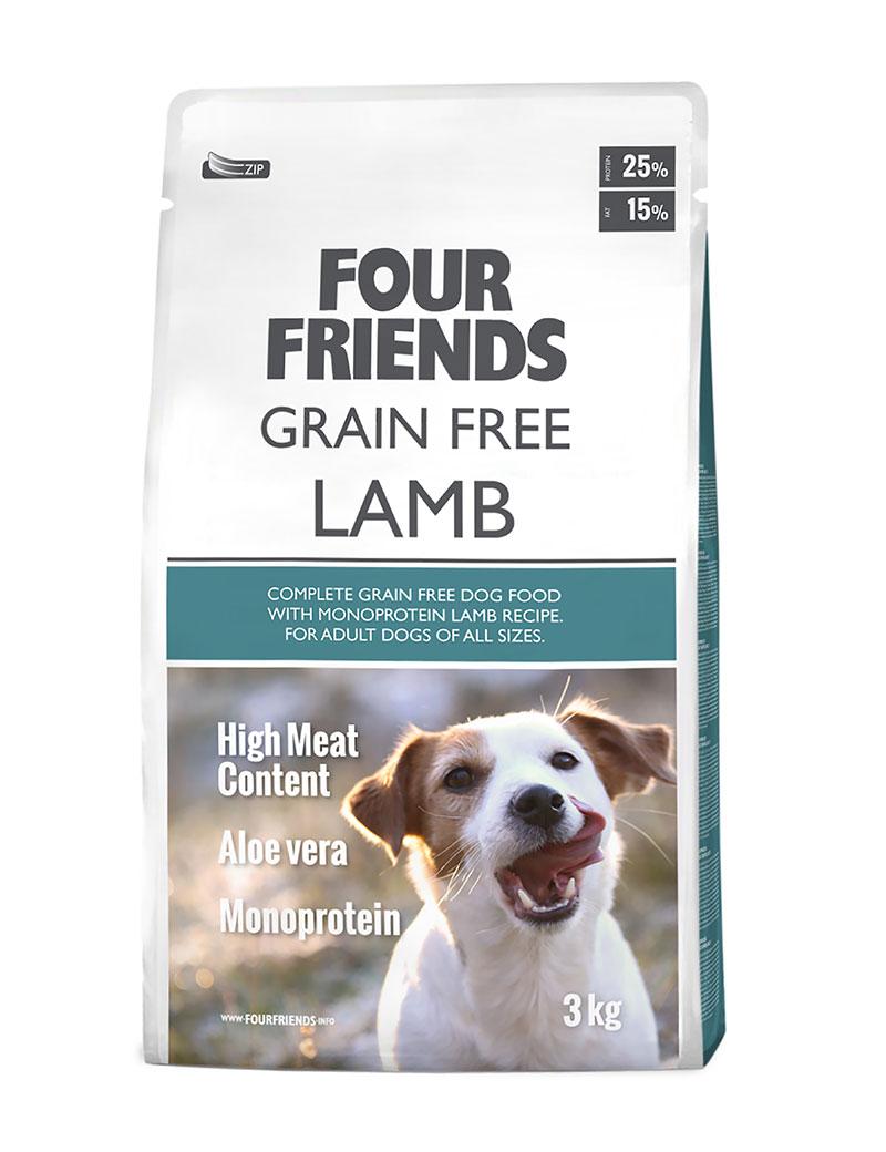 Four Friends Lamb 3kg