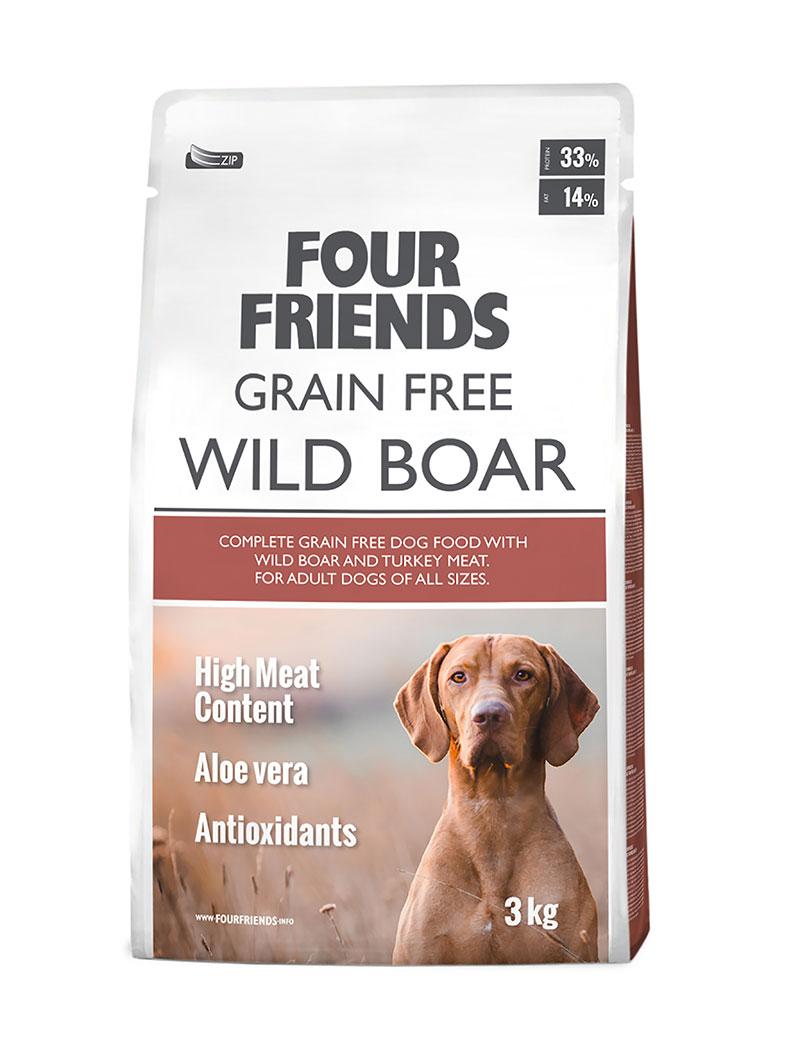 Four Friends Wild Boar 1kg