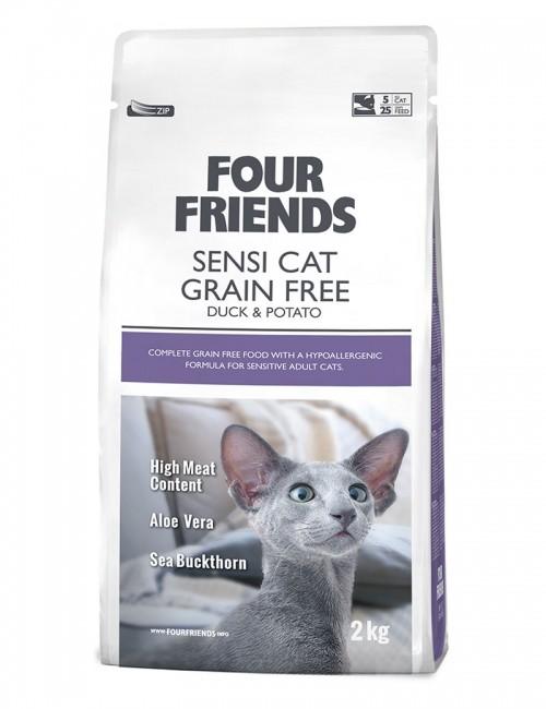 Four Friends Sensi Cat 2kg